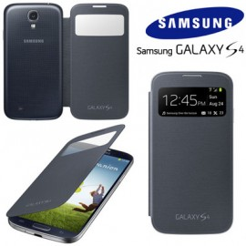 Galaxy S4 IV (I9500)  - Чехол (Black S View Cover!) ORIGINAL (EF-CI950BBEGWW)