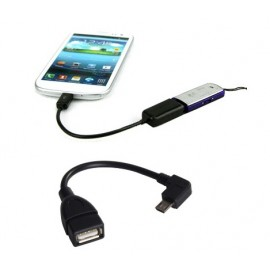 Galaxy Note 2 N7100 - USB Host - переходник MicroUSB (порт USB)
